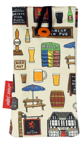 Selina-Jayne British Pub Limited Edition Designer Soft Glasses Case